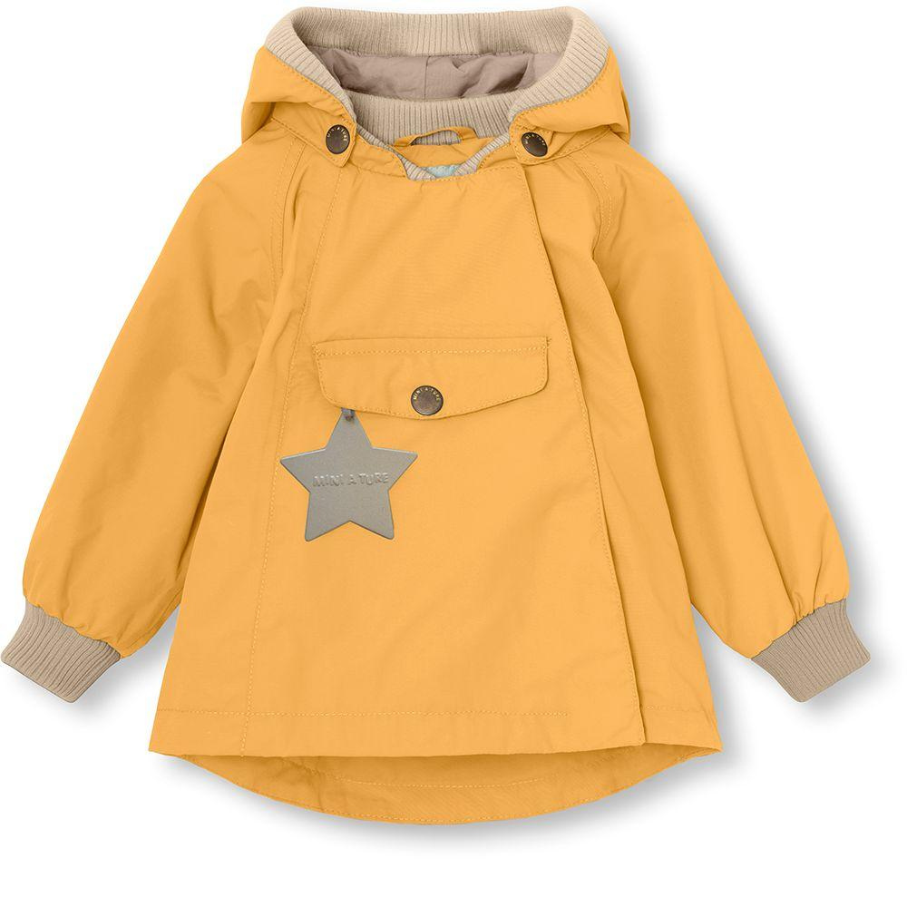 Mini A Ture WAI Fleece Jacket, M - Waxed Honey - Torgunns Barneklær
