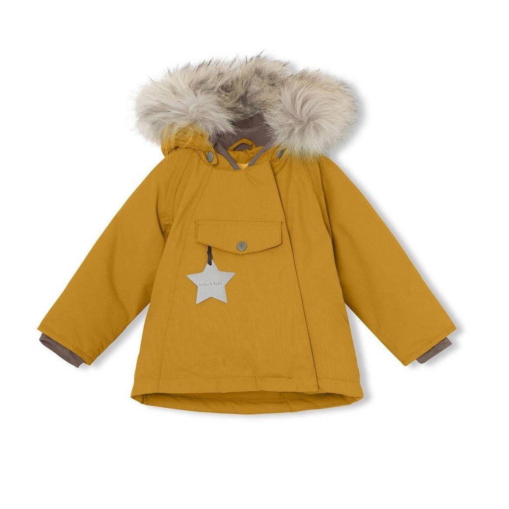 Mini A Ture Wang Fur Jacket, M - Buckthorn Brown - Torgunns Barneklær