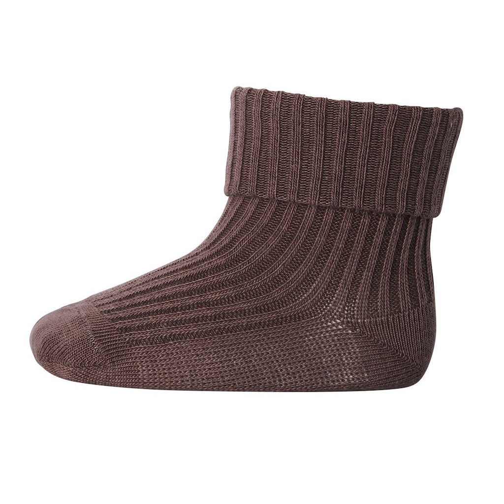 mp Denmark ANKLESOCK 2/2 PAD BABY - SIENNA BROWN Sokker mp