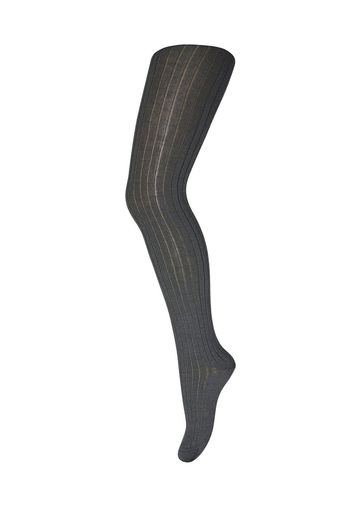 mp Denmark Rib WOOL Tights - DARK ARMY Strømpebukser mp Denmark