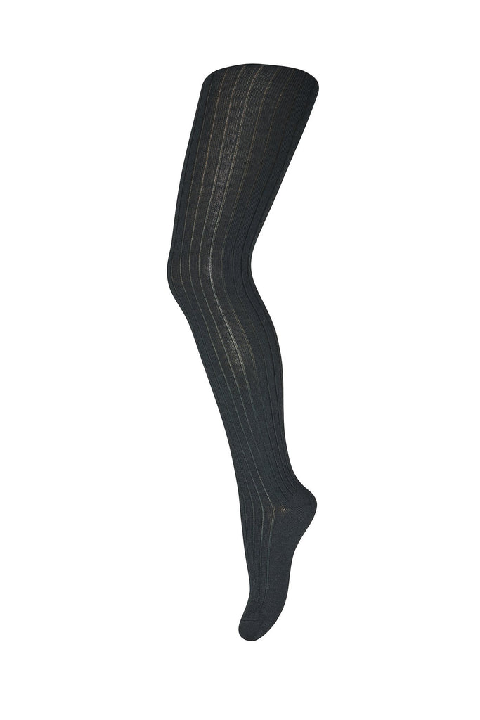 mp Denmark Rib WOOL Tights - DEEP FOREST Strømpebukser mp Denmark