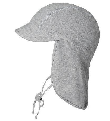 mp Denmark SAMI SUN HAT - GREY MELANGE Solhatt mp