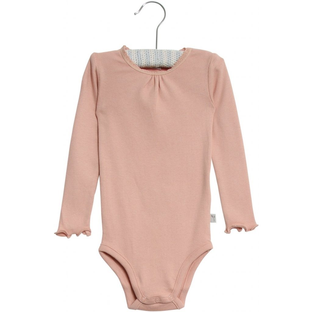 Wheat Body RIB LACE LS - Misty Rose Body Wheat