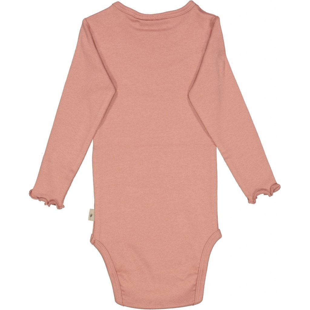 Wheat Body RIB Ruffle LS - Rosie Body Wheat