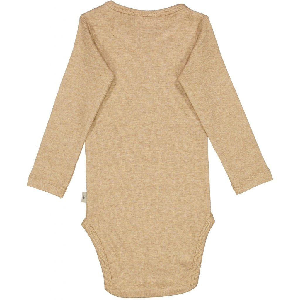 Wheat Body RIB - Sand Melange Body Wheat
