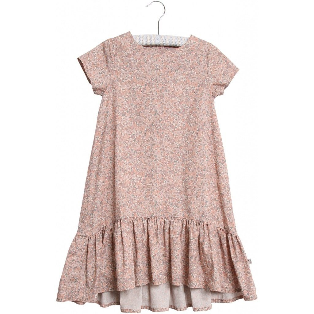 Wheat Dress LINDA - Powder Flowers Kjole Wheat