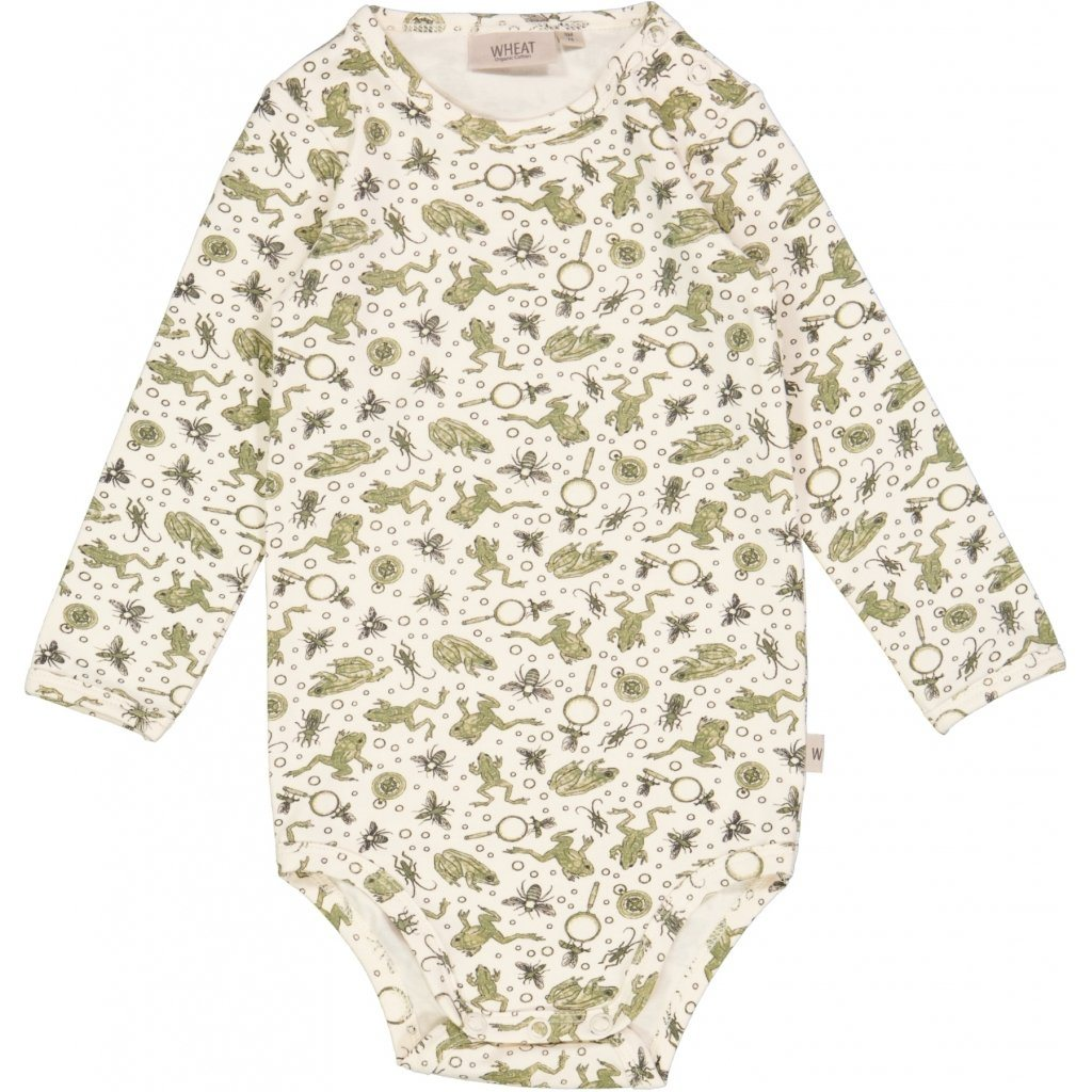 Wheat Jersey Body - Eggshell Frogs Body Wheat