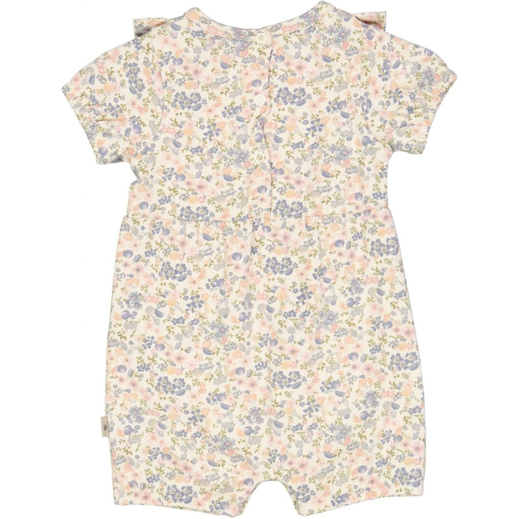 Wheat Jumpsuit NANNA SS - Flowers And Seashells Romper Wheat
