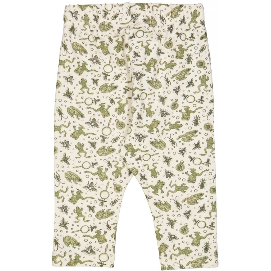 Wheat Leggings NICKLAS - Eggshell Frogs Underdeler Wheat