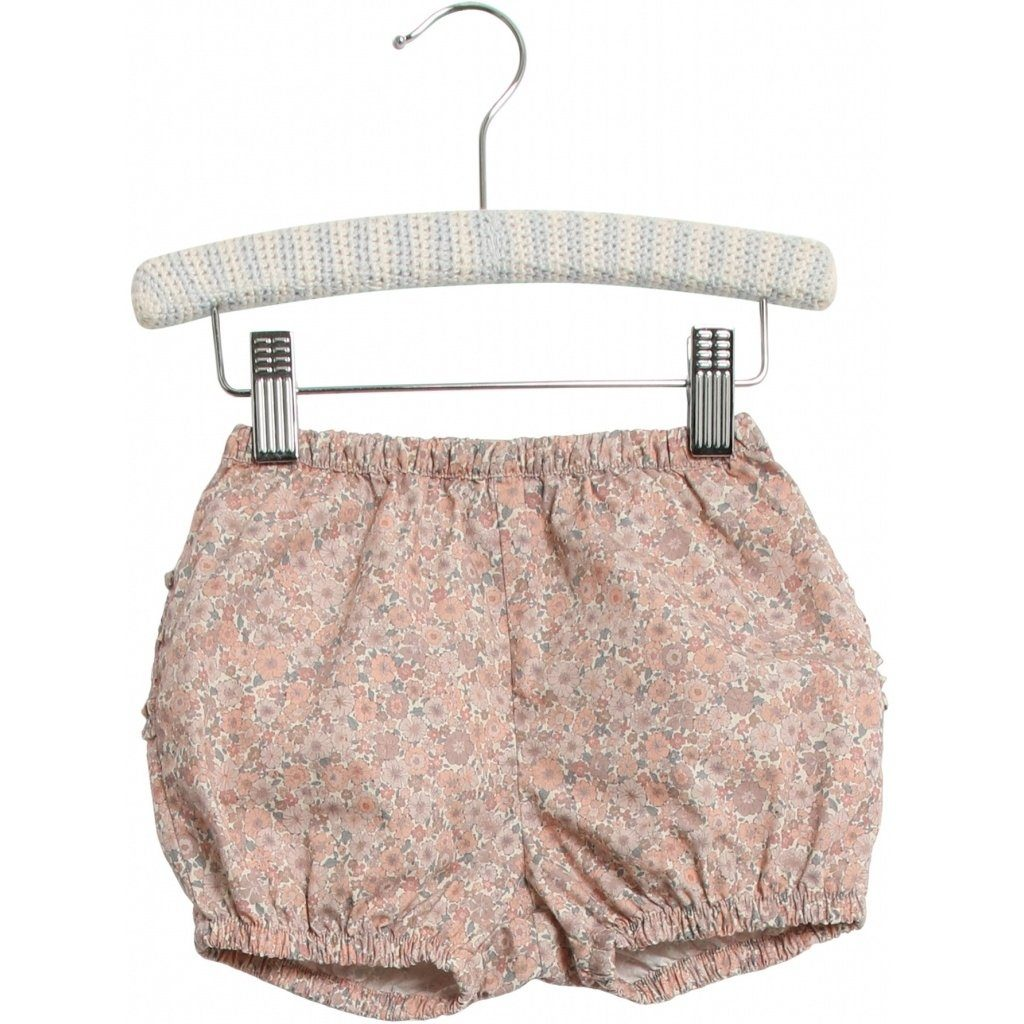 Wheat NAPPY Pants Ruffles - Powder Flowers - Torgunns Barneklær