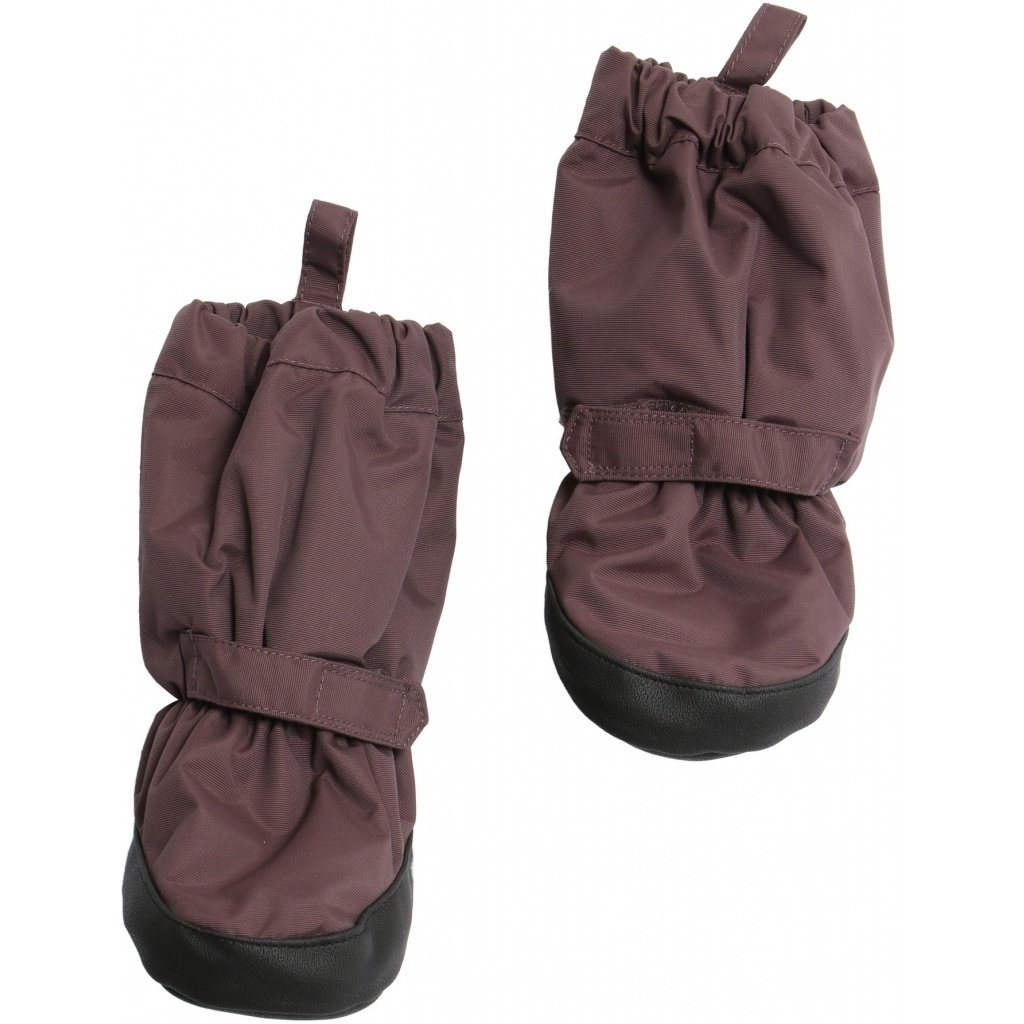 Wheat Outerwear Booties Tech - Eggplant - Torgunns Barneklær