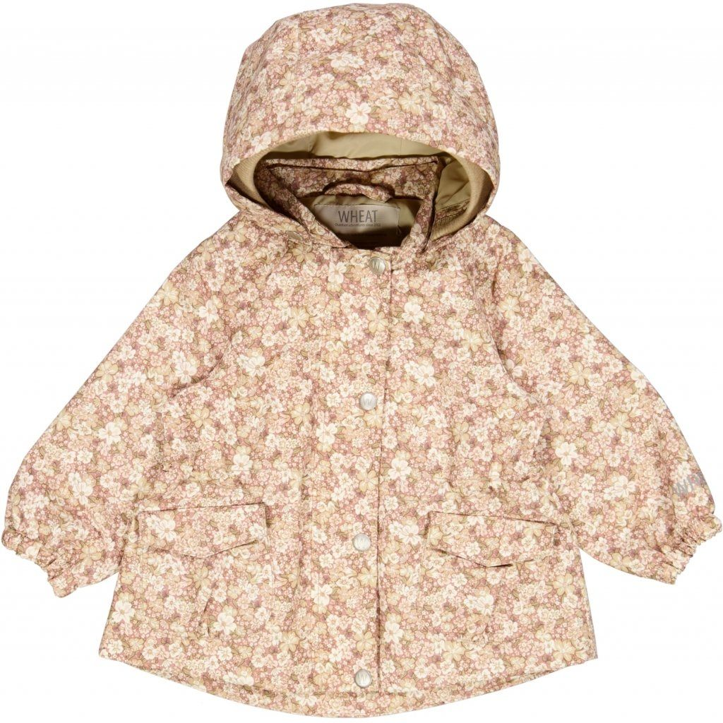 Wheat Outerwear Jacket ADA Tech - Rose Flowers Yttertøy Wheat