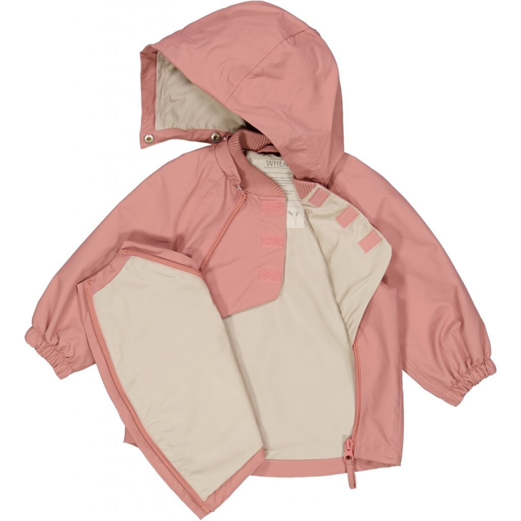 Wheat Outerwear Jacket SVEO Tech - Antique Rose Yttertøy Wheat