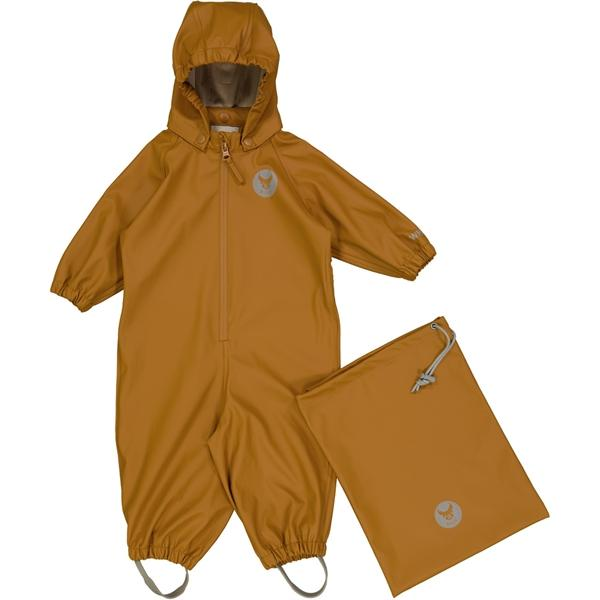 Wheat Outerwear Rainsuit MIKA - Golden Camel Yttertøy Wheat
