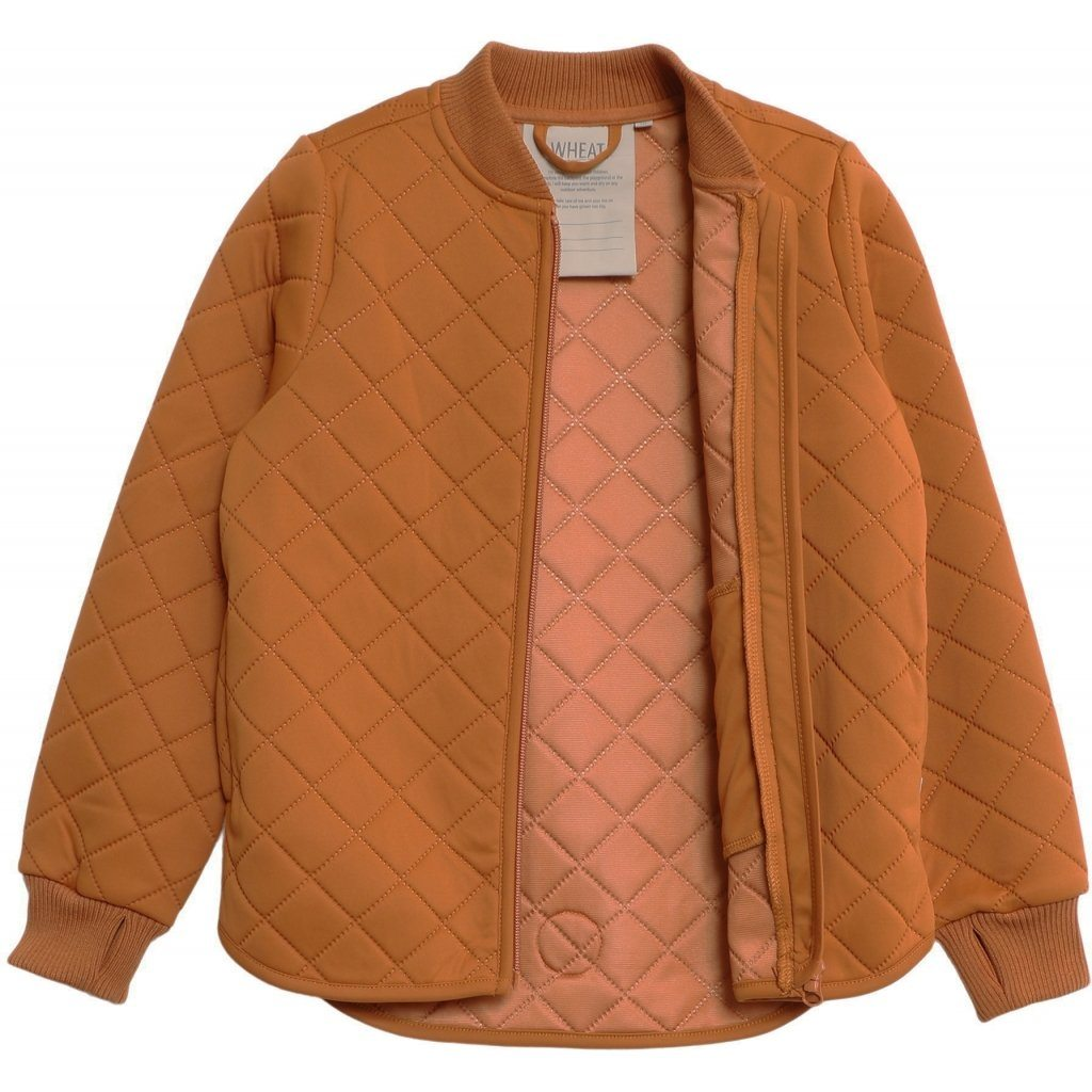 Wheat Outerwear Thermo Jacket LOUI - Terracotta Yttertøy Wheat