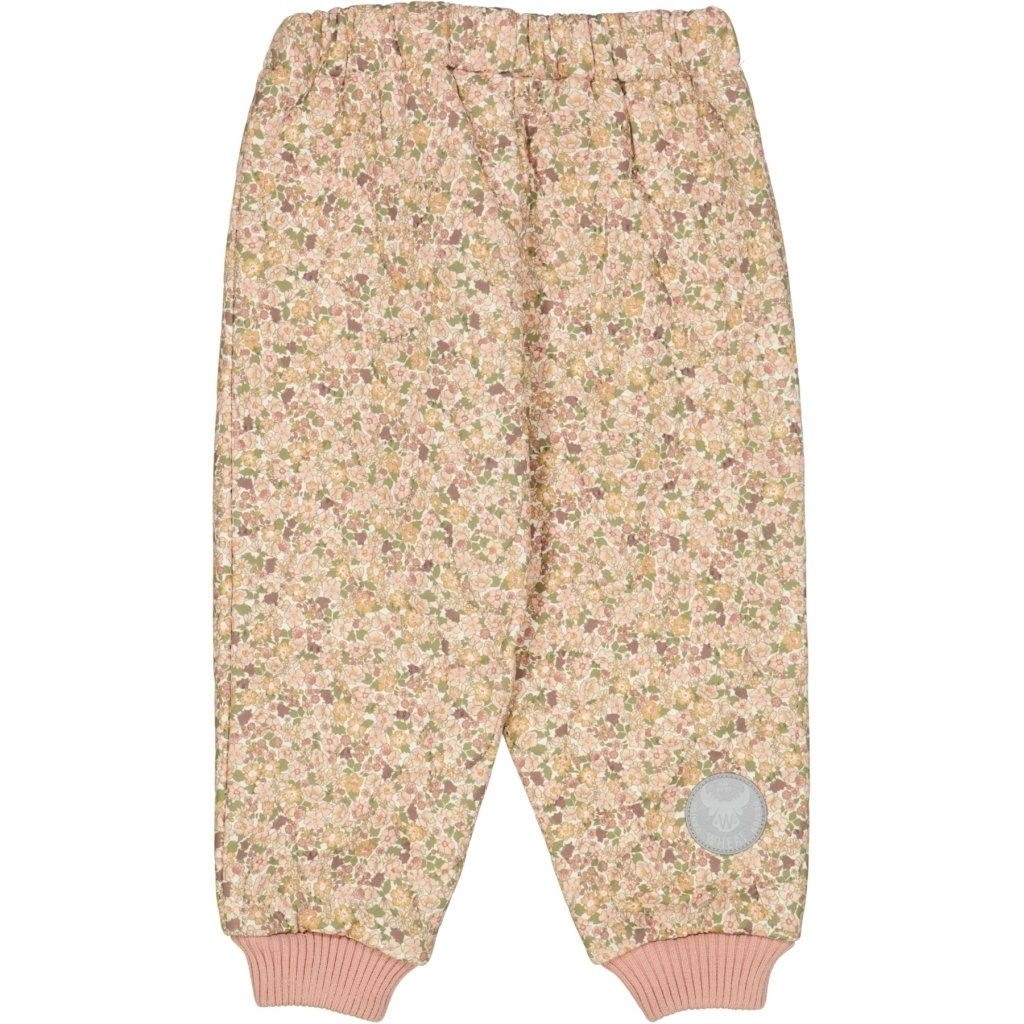 Wheat Outerwear Thermo Pants ALEX - Eggshell Flowers Yttertøy Wheat