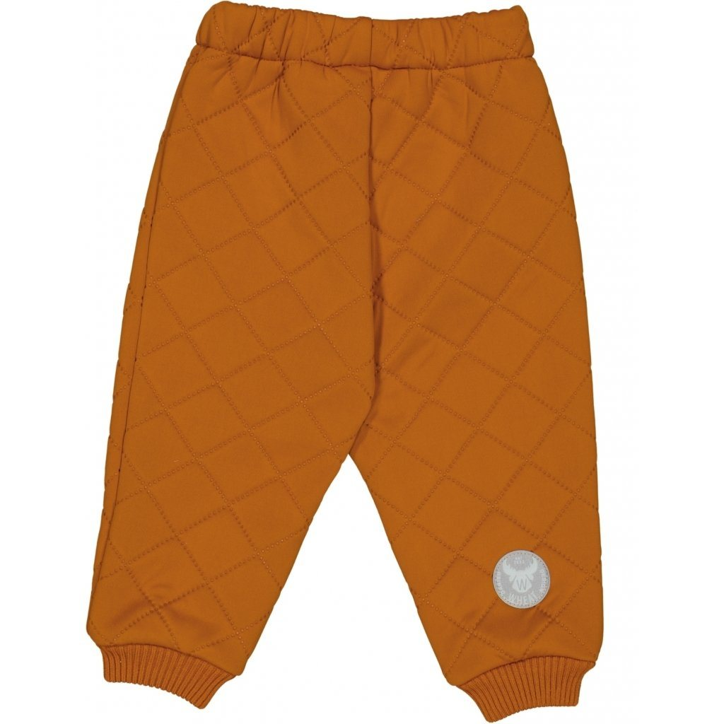Wheat Outerwear Thermo Pants ALEX - Terracotta Yttertøy Wheat
