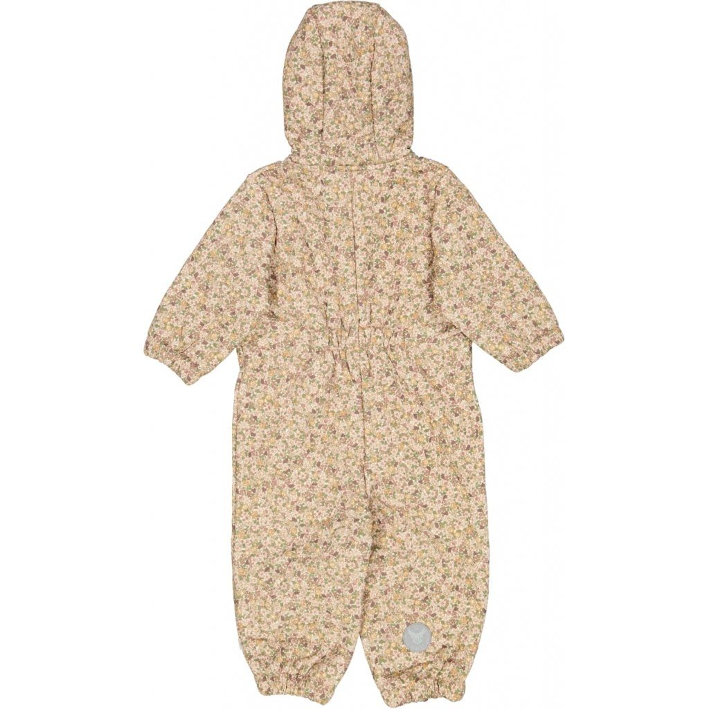 Wheat Outerwear Thermosuit HARLEY - Eggshell Flowers Yttertøy Wheat