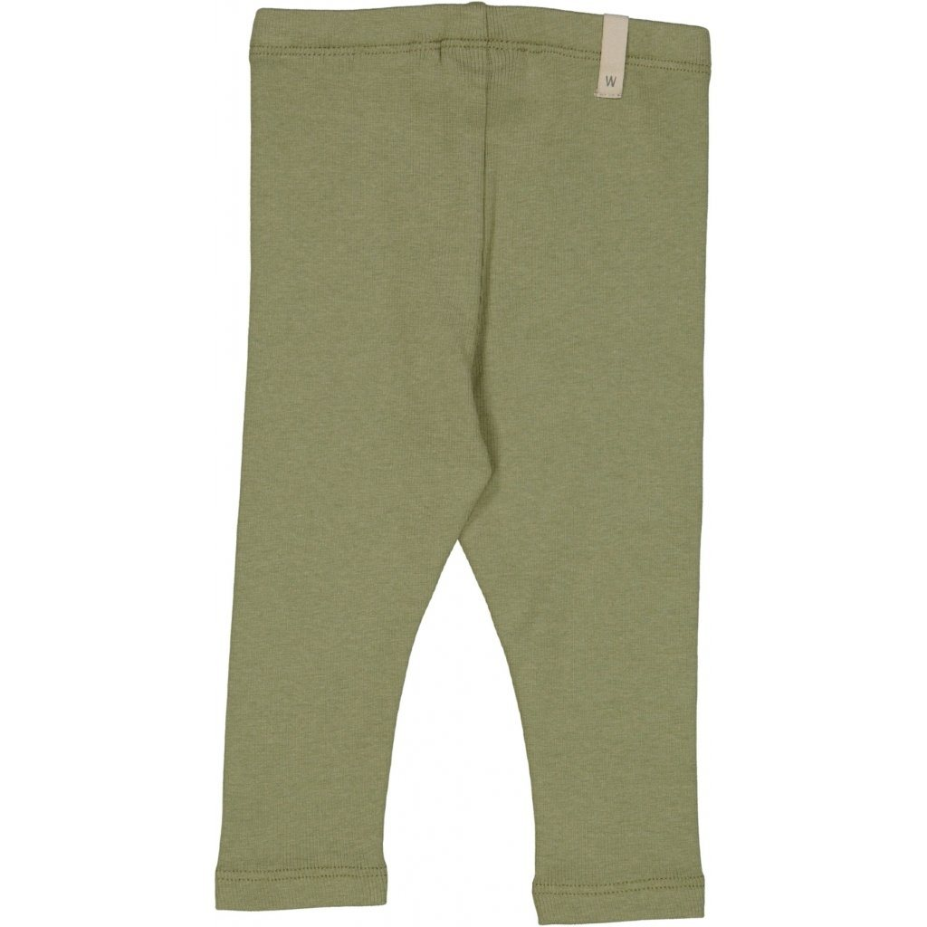 Wheat RIB Leggings - Sage Underdeler Wheat