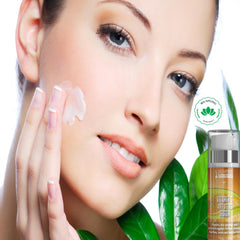 20% Vitamin C Serum with Hyaluronic Acid for Face | 98% Naturally Derived 72% Organic