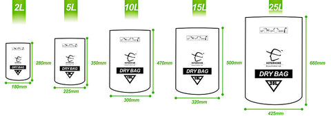 2L / 5L Muitifunctional Durable Ultralight Waterproof Dry Bag