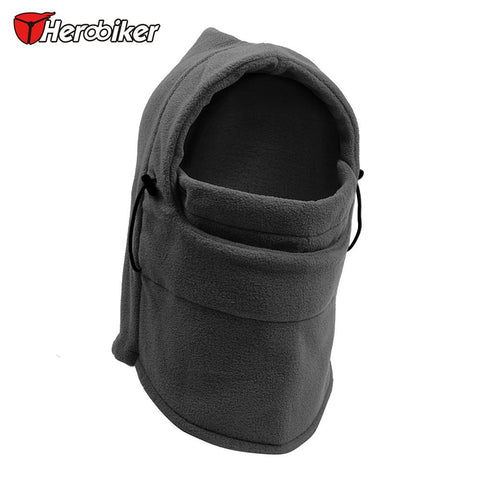 Winter Outdoor Thermal Fleece Hood