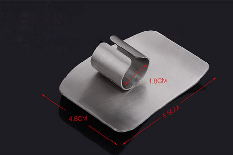 Stainless Steel Finger Hand Protector Guard | Chop Safe - Kitchen accessories