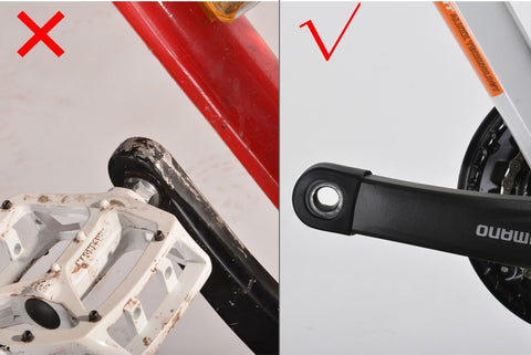 Bicycle Crank Protector Cover