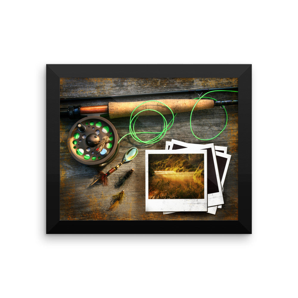 Framed poster | Fishing