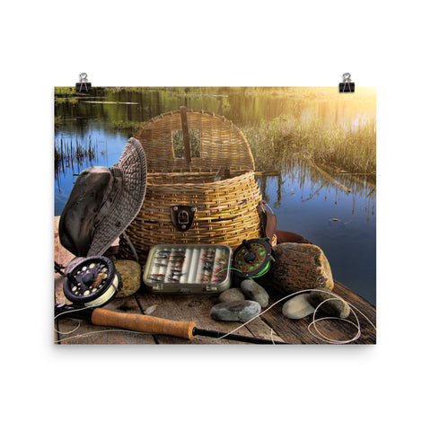 Photo paper poster | Fishing