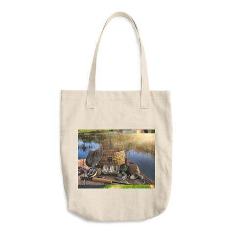 Cotton Tote Bag | Fishing