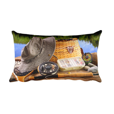 Rectangular Pillow | Fishing