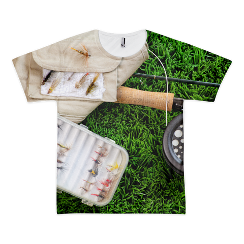Short sleeve men's t-shirt (unisex) | Fishing