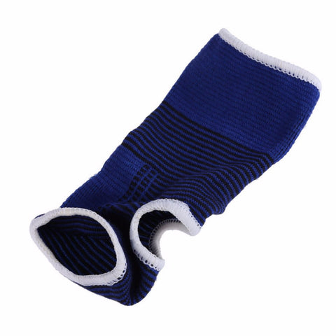 2 X Elastic Knitted  Ankle Brace Support Band Sports Gym Protects Therapy  Top Quality~~