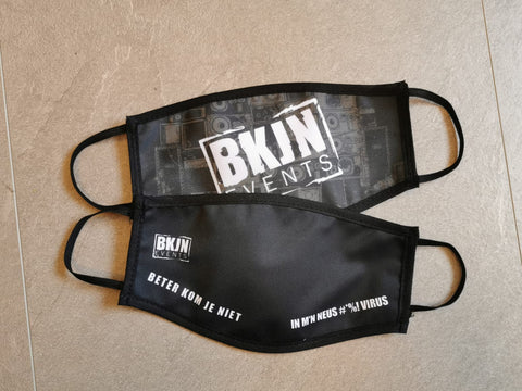 BKJN Logo Face Mask Combo package 2 pieces