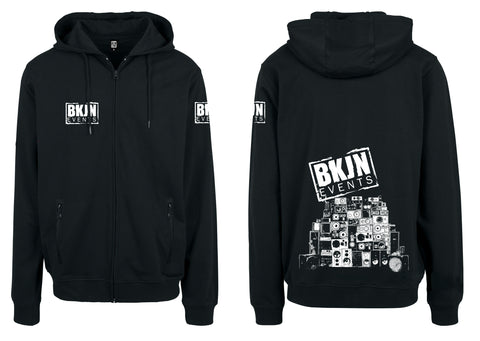 BKJN Hooded Zipped Sweater