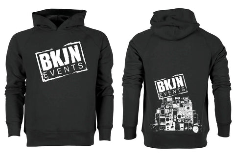 BKJN Hooded with big stitched logo