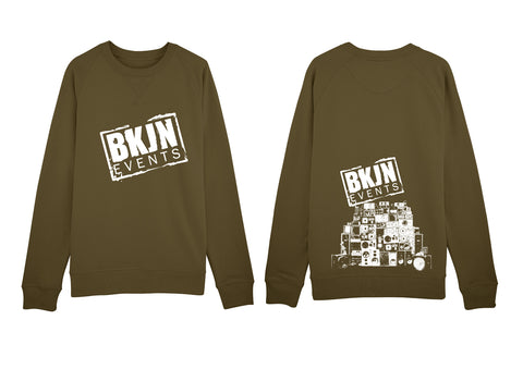 BKJN Sweater Khaki (Limited edition)