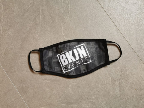 BKJN Logo Face Mask