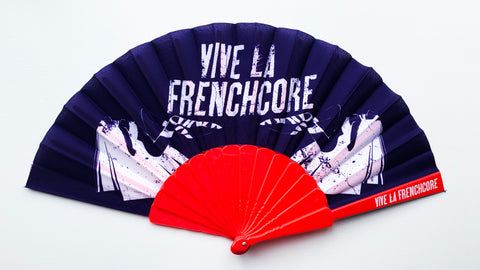 Vive La Frenchcore Fan red/purple