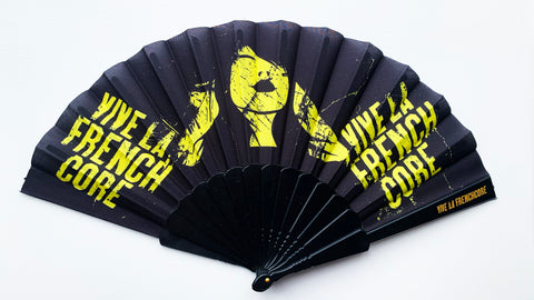 Vive La Frenchcore Fan black/yellow