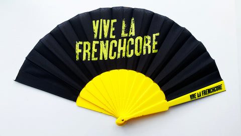 Vive La Frenchcore Fan yellow/black