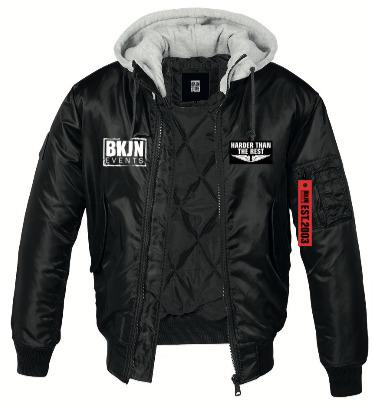 BKJN HOODED BOMBER