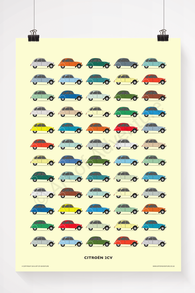 Citroën 2CV illustration