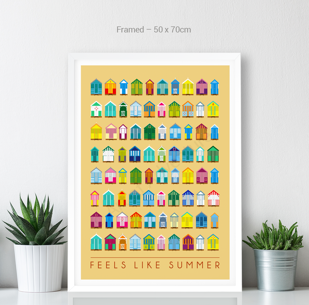 Feels Like Summer – Beach Huts