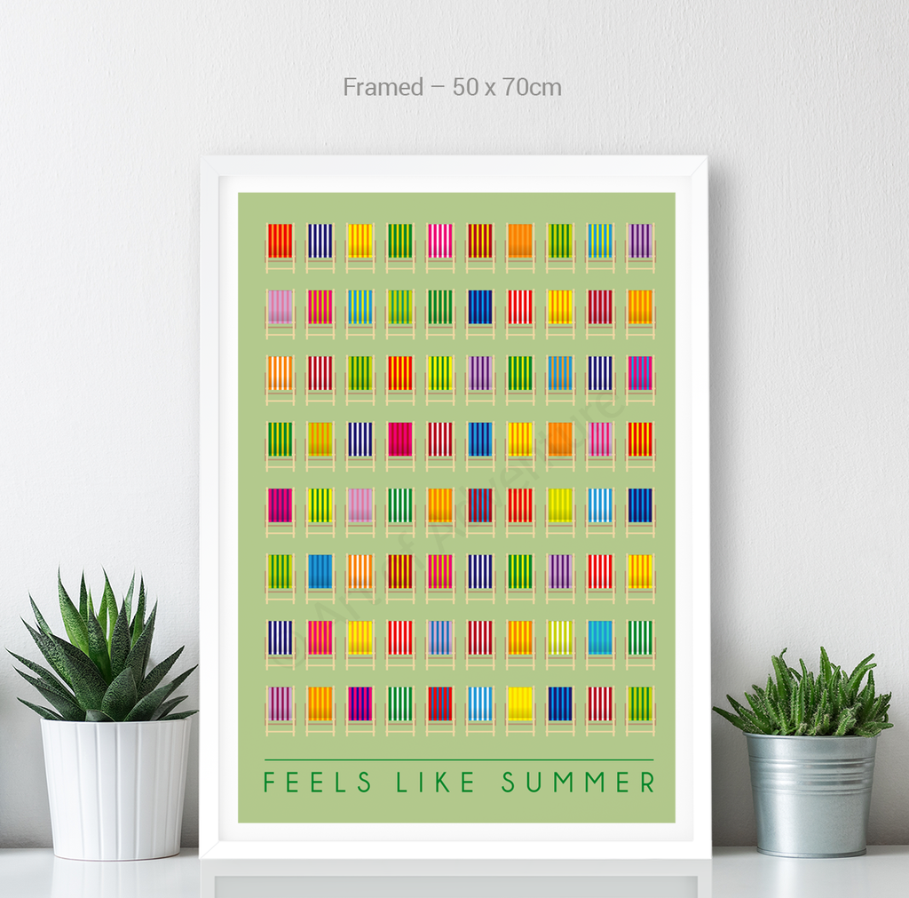 Feels Like Summer – Deck Chairs - Art of Adventure