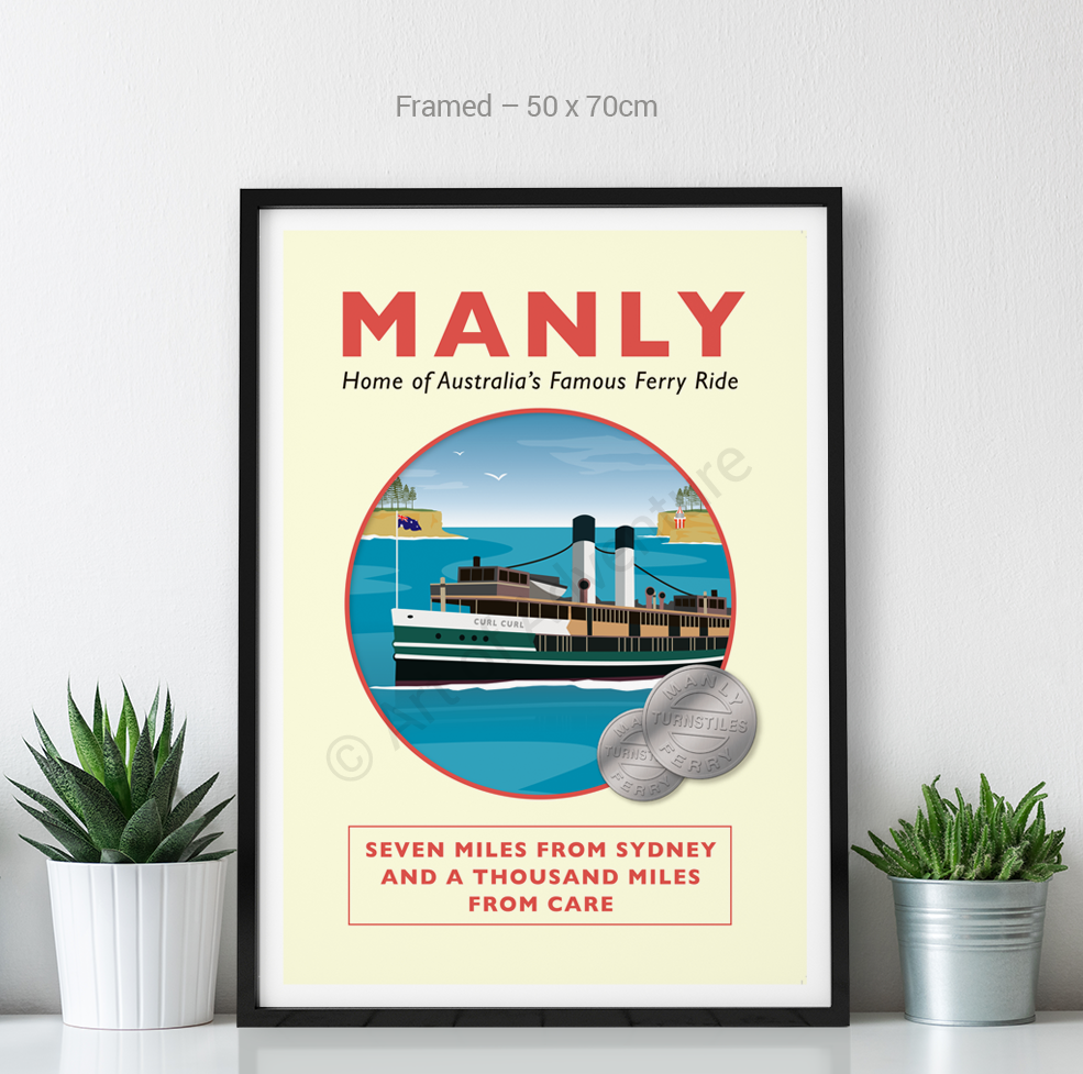 Old Manly Ferry – Sydney - Art of Adventure