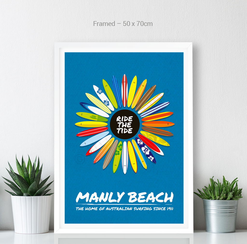 Manly Beach – Surfboards - Art of Adventure