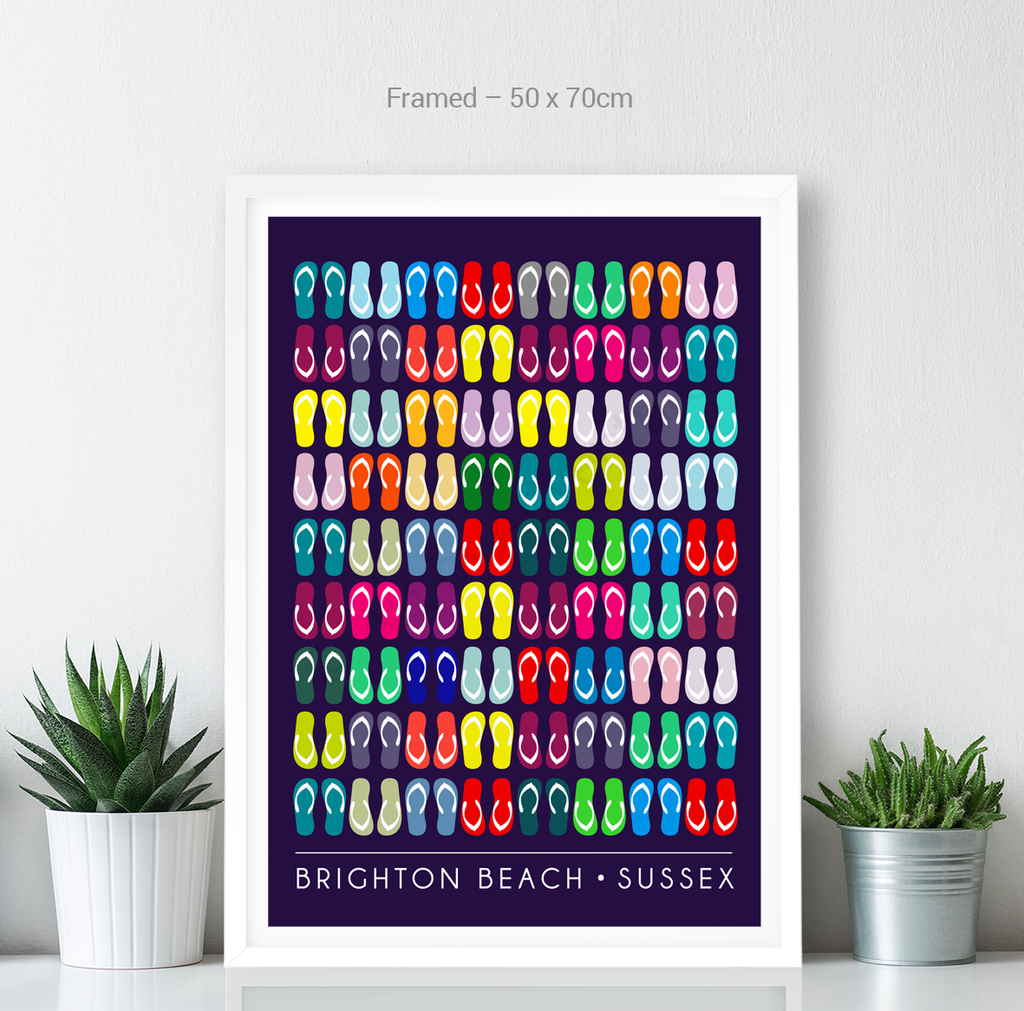 Brighton Beach – Flip Flops - Art of Adventure