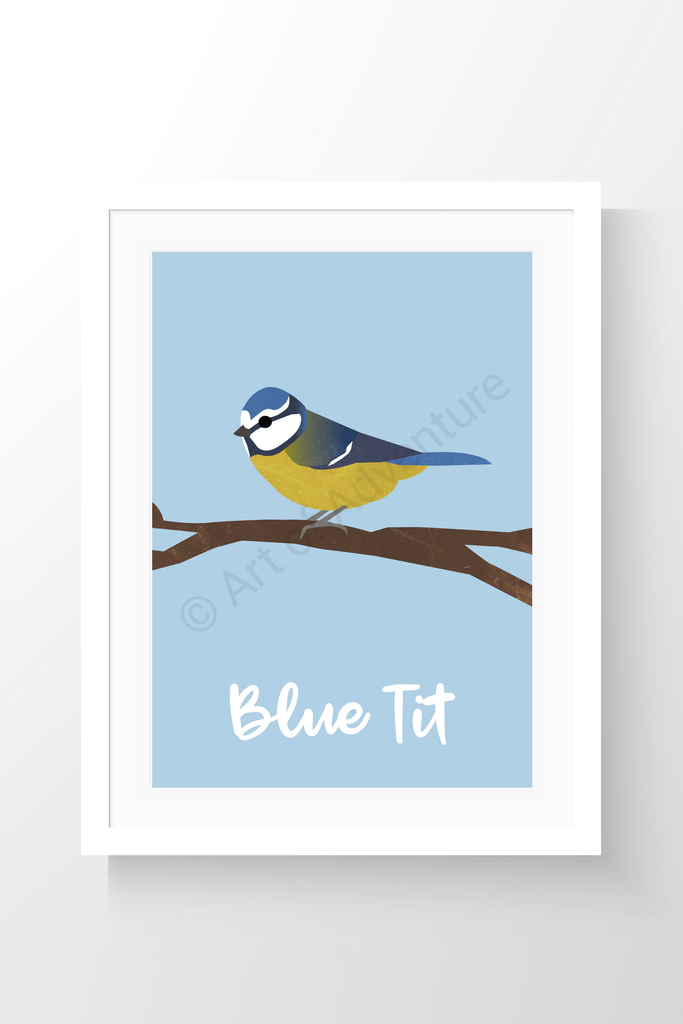 Blue Tit - Art of Adventure
